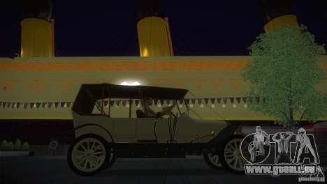 Russo-Balt avec 2440 pour GTA San Andreas vue de droite