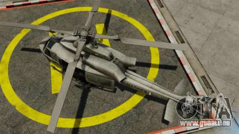Hélicoptère Bell UH-1Y Venom pour GTA 4 est un droit