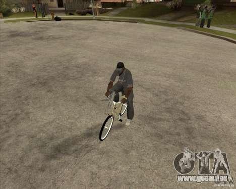 Nouveau vélo pour GTA San Andreas vue de droite