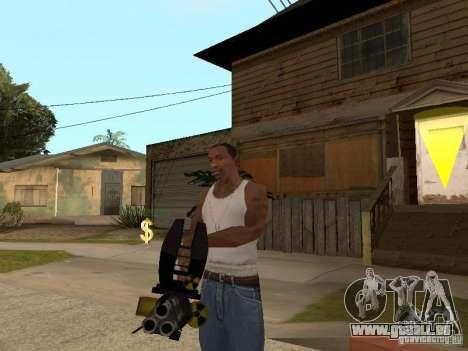 Minigun für GTA San Andreas zweiten Screenshot