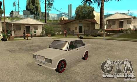VAZ 2107 réglage optique pour GTA San Andreas