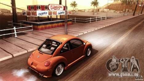 Volkswagen Beetle RSi Tuned für GTA San Andreas Innen