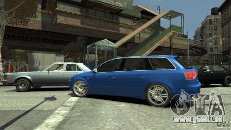 Audi S4 Avant pour GTA 4 est une vue de l'intérieur