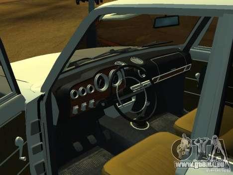 VAZ 2106 Touring für GTA San Andreas Rückansicht