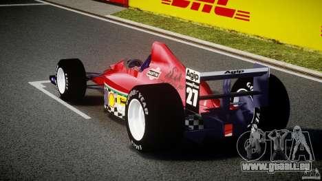 Ferrari Formula 1 pour GTA 4 Vue arrière de la gauche