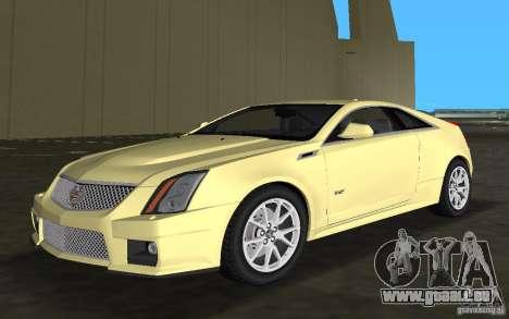 Cadillac CTS-V Coupe für GTA Vice City