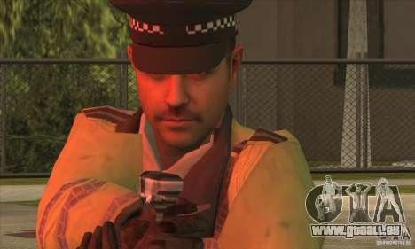 Une nouvelle Police pour GTA San Andreas deuxième écran