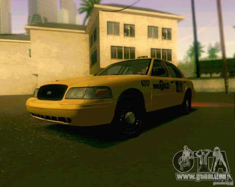 Ford Crown Victoria 2003 NYC TAXI pour GTA San Andreas