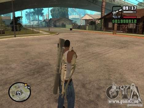 La vue standard pour GTA San Andreas