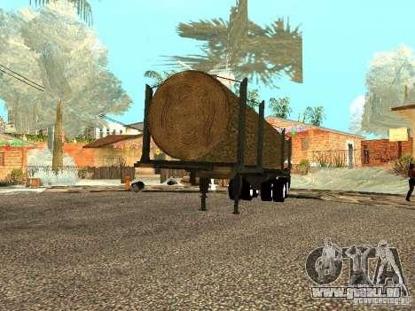 Gefällten Baumes für GTA San Andreas rechten Ansicht