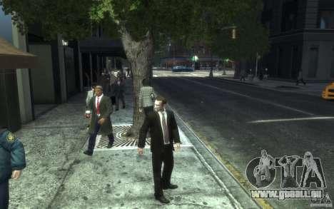 Offene Jacken mit Krawatten für GTA 4 siebten Screenshot