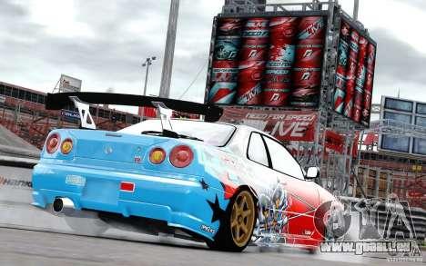 Nissan Skyline R34 Evil Empire für GTA 4 rechte Ansicht