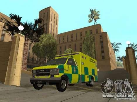London Ambulance pour GTA San Andreas