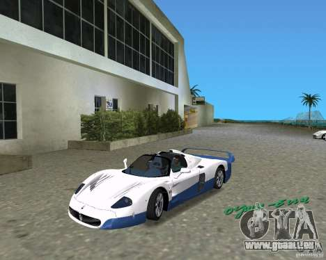 Maserati MC12 pour GTA Vice City