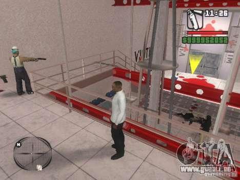 Gangs mod pour GTA San Andreas deuxième écran