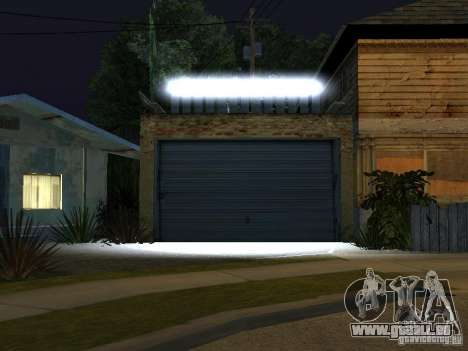 Le New Grove Street pour GTA San Andreas cinquième écran