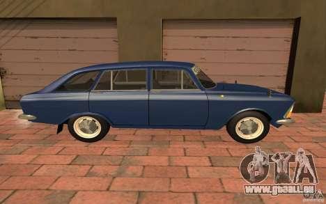 IZH 2125 Kombi pour GTA San Andreas sur la vue arrière gauche