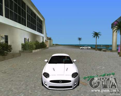 Jaguar XKR S pour une vue GTA Vice City de la droite