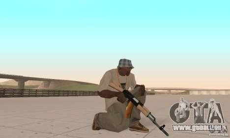 AK 47 für GTA San Andreas zweiten Screenshot