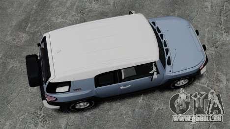 Toyota FJ Cruiser für GTA 4 rechte Ansicht