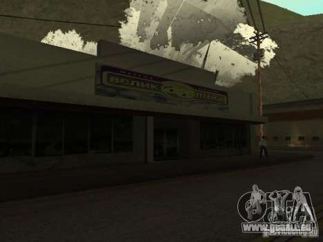Le Village de Ivanovka pour GTA San Andreas deuxième écran