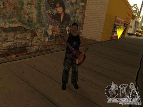 Film-Songs auf der Gitarre für GTA San Andreas