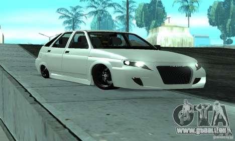 VAZ-2112-Auto Tuning für GTA San Andreas Unteransicht