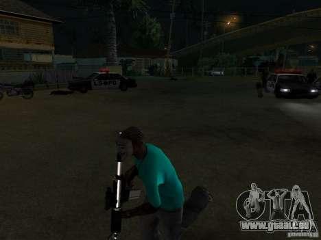 Guy Fawkes Maske für GTA San Andreas zweiten Screenshot