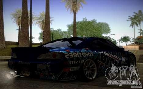 Nissa Silvia S15 Toyo für GTA San Andreas linke Ansicht