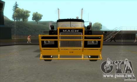 Mack R600 pour GTA San Andreas laissé vue