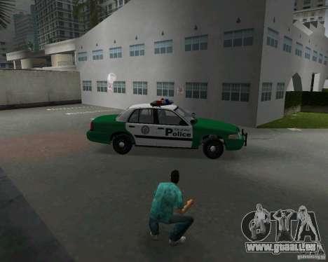 Ford Crown Victoria 2003 Police für GTA Vice City Innenansicht