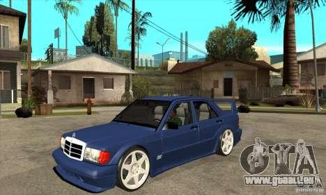 Mercedes-Benz w201 190 2.5-16 Evolution II für GTA San Andreas