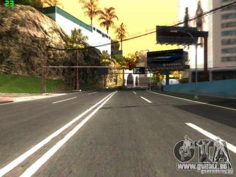 Roads Moscow für GTA San Andreas zweiten Screenshot