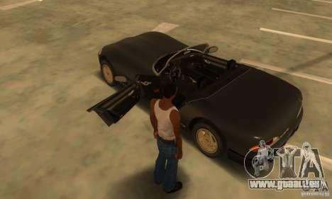 New Banshee [HD] für GTA San Andreas Innenansicht