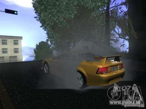 Ford Mustang SVT Cobra pour GTA San Andreas vue arrière
