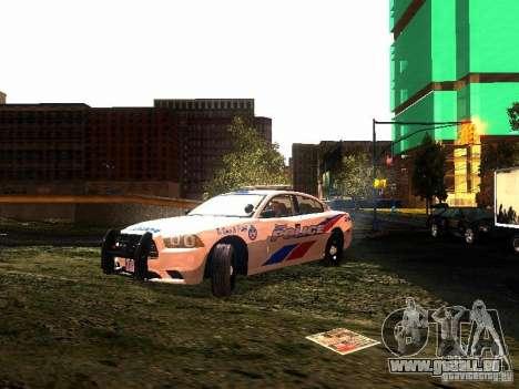 Dodge Charger 2011 Toronto Police für GTA San Andreas