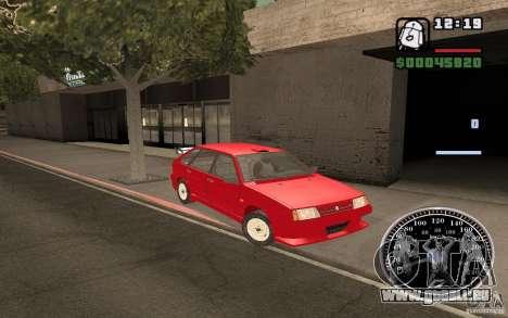 VAZ 21093i für GTA San Andreas Räder