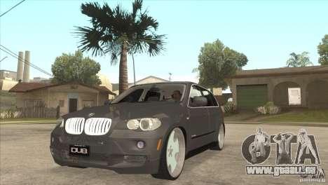 BMW X5 dubstore für GTA San Andreas