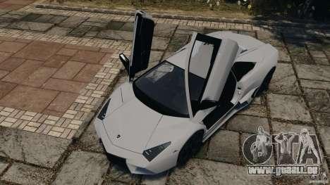 Lamborghini Reventon 2008 v1.0 [EPM] pour GTA 4 est une vue de dessous