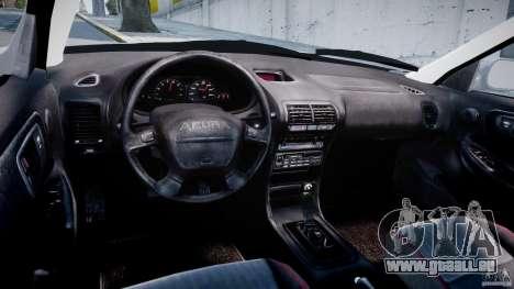 Acura Integra Type-R pour GTA 4 Vue arrière