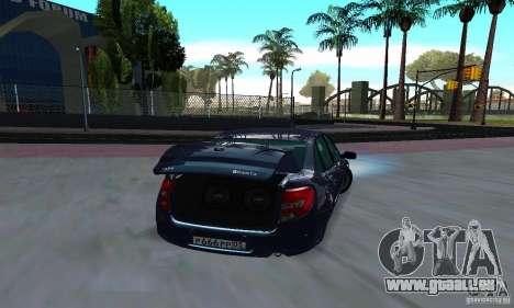 Lada Granta Low pour GTA San Andreas vue de droite