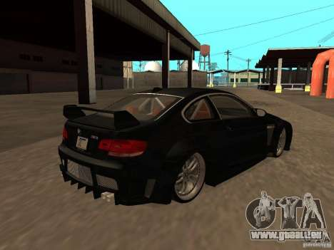 BMW M3 E92 Tunable pour GTA San Andreas vue de côté
