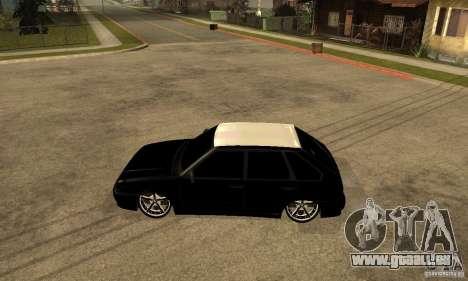 Lada ВАЗ 2114 LT pour GTA San Andreas laissé vue