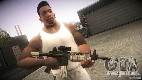 Weapon Pack by GVC Team pour GTA San Andreas deuxième écran