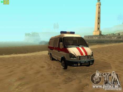 Gazelle 32214 Ambulance pour GTA San Andreas