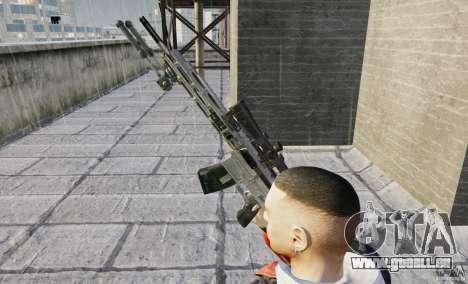 RSASS de MW3 (sniper) pour GTA 4 quatrième écran