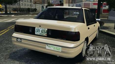 Mercury Tracer 1993 v1.1 für GTA 4 hinten links Ansicht