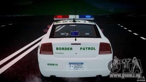 Dodge Charger US Border Patrol CHGR-V2.1M [ELS] pour GTA 4 roues