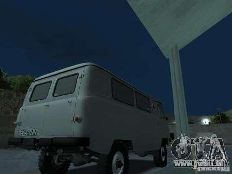 UAZ 451A pour GTA San Andreas vue de droite