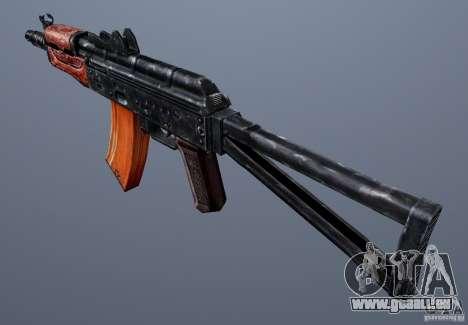 AKS74U pour GTA San Andreas deuxième écran